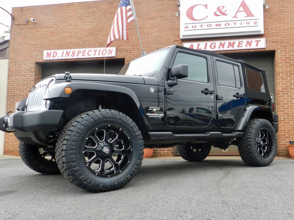Jeep Lift Kit - C&A Automotive
