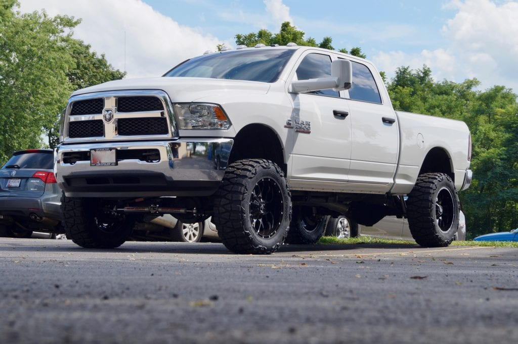 dodge ram 2500 truck lift kit c a automotive. Black Bedroom Furniture Sets. Home Design Ideas