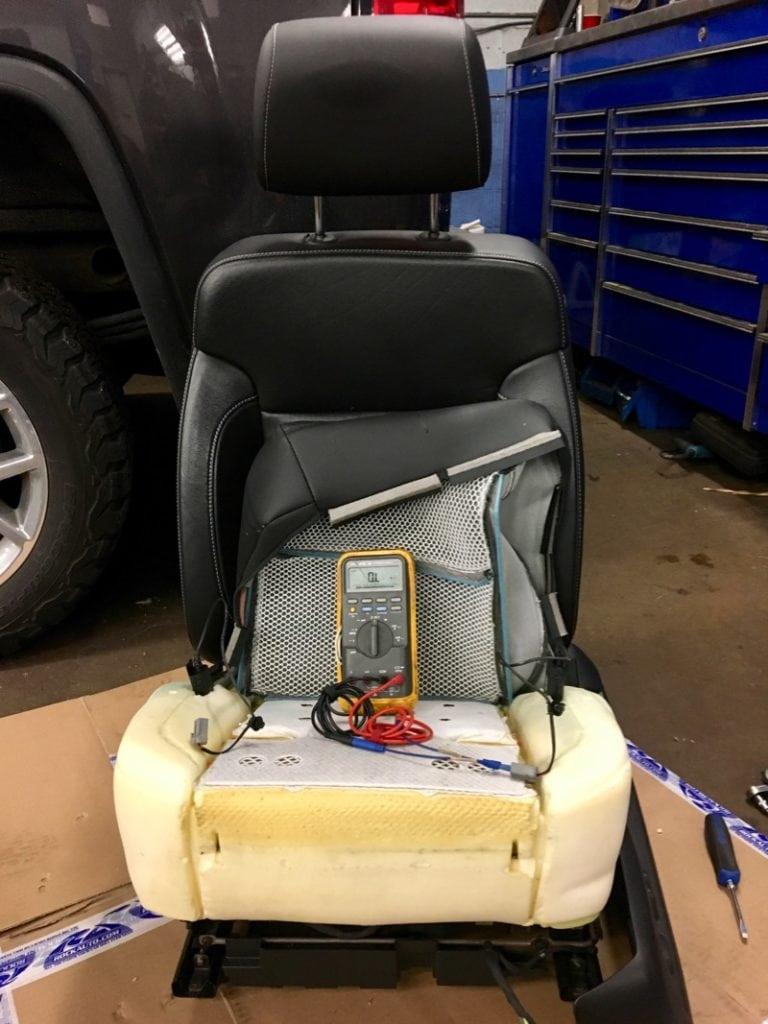 GMC Truck Seat Motor Repair - C&A Automotive