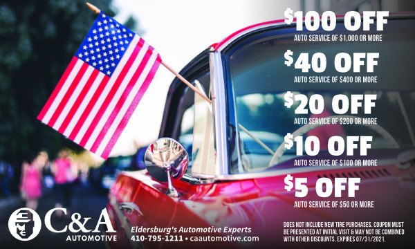 Save on auto repair with our monthly Money Mailer